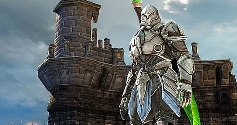 Infinity Blade conceived as a Kinect game