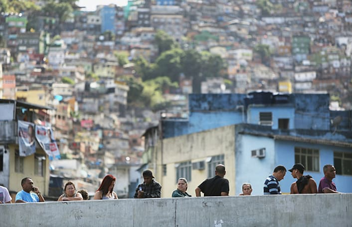 Mail carriers are mapping Brazil's favelas before tech companies can