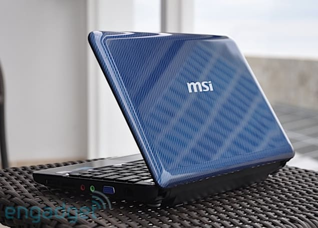 MSI Wind U135 hands-on impressions