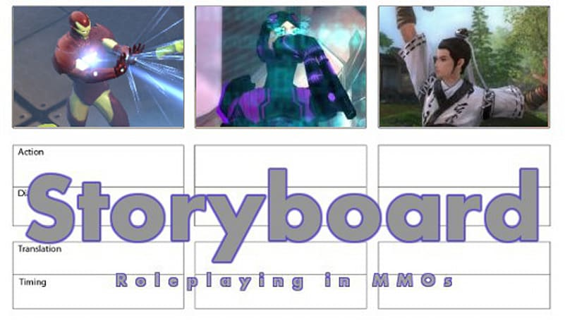 Storyboard: Nobody gets your character