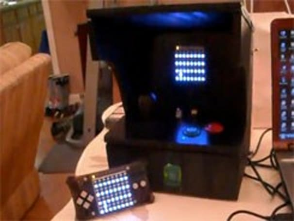 MeggyCade: it's what happens when Meggy Jr. meets arcade (video)