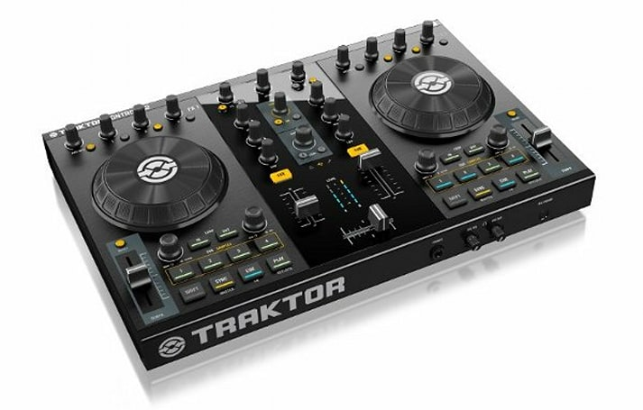 Traktor Kontrol S2 digital DJ system shaves a few inches and bones off its big brother