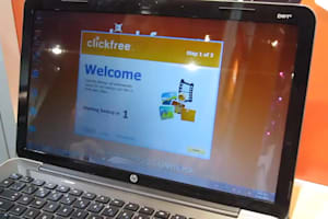 Clickfree Wireless Backup Hands-on