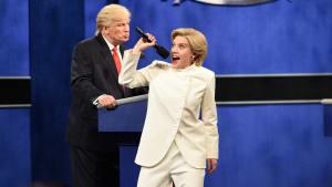 'SNL' Mocks Third And Final Presidential Debate
