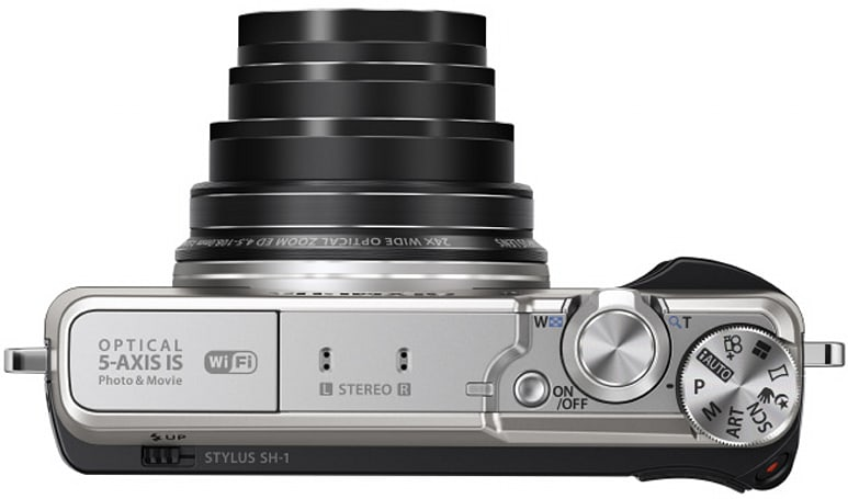Olympus brings five-axis image stabilization to the point-and-shoot with $400 Stylus SH-1