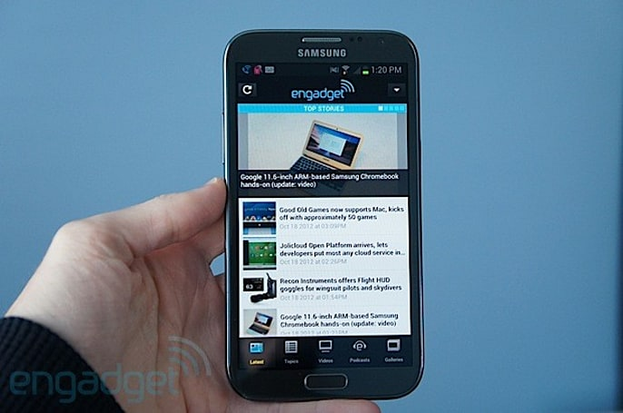 Samsung Galaxy Note II for T-Mobile review