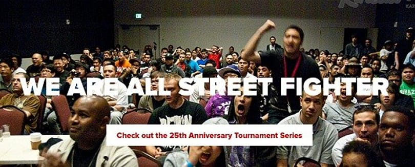 Street Fighter 25th Anniversary Grand Finals take the stage Dec. 8