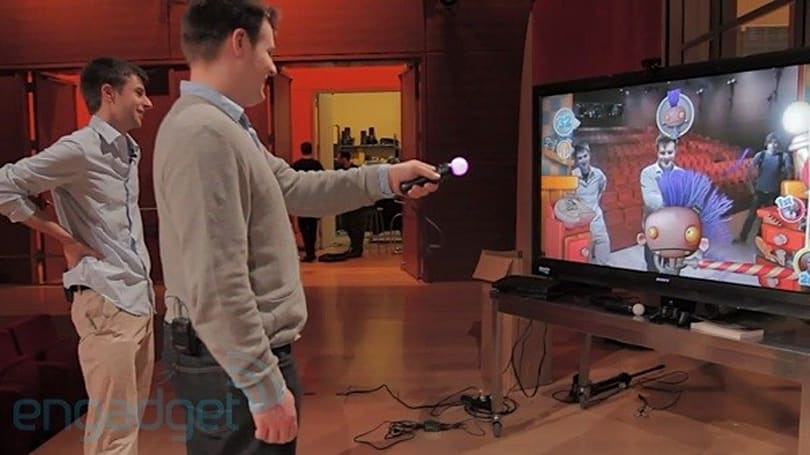 PlayStation Move bonus round: Move Party hands-on and interview with Anton Mikhailov