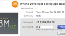 For sale on eBay: One iPhone development business, batteries not included
