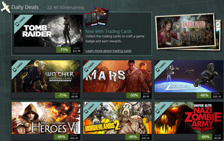 Steam Summer Getaway Sale, day 3: Tomb Raider, Borderlands 2, Witcher 2 and more