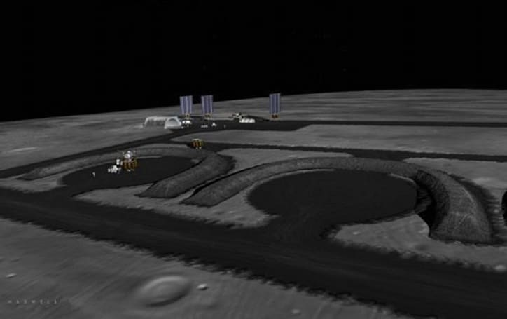 NASA ruminating a robot-built lunar outpost to make way for manned missions