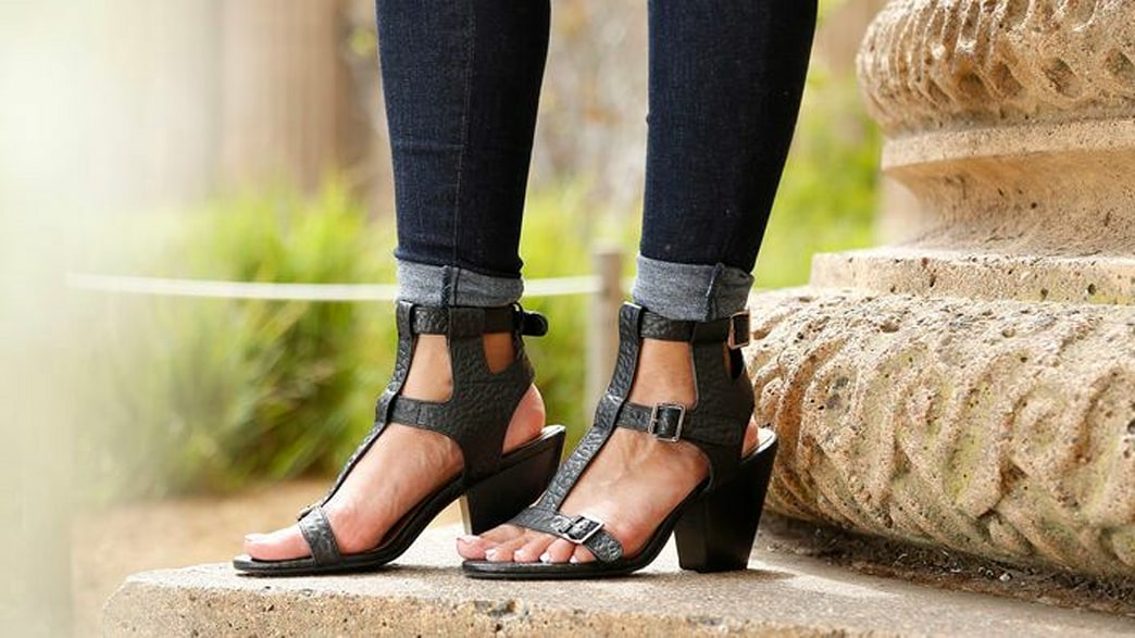 Shop this video: Rule your runway in gladiator sandals