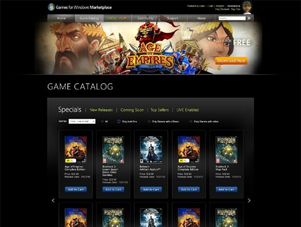 Games for Windows Marketplace gets competitive, relaunching Nov. 15