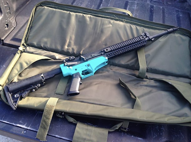 Great, now 3D-printed rifles can fire larger, deadlier rounds