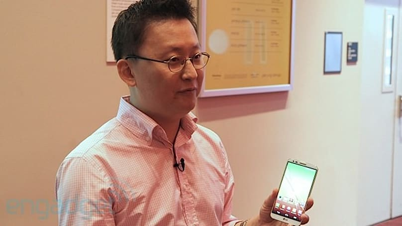 The Engadget Interview: LG Mobile's Dr. Ram-chan Woo on the G2 design and features
