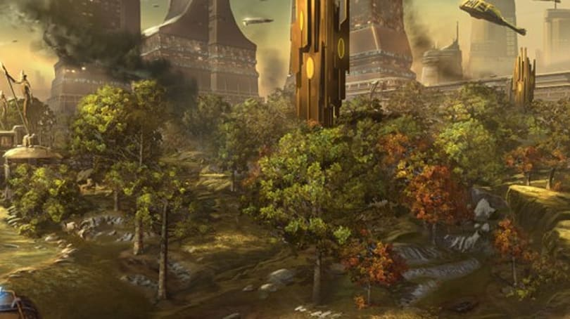 Star Wars: The Old Republic lets you make a holocall to the first guild summit