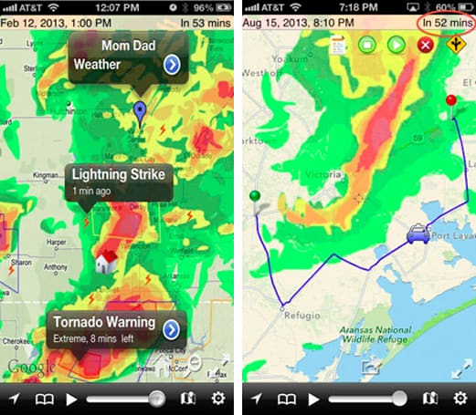 Daily iPhone App: Radar Cast helps you stay on top of the weather
