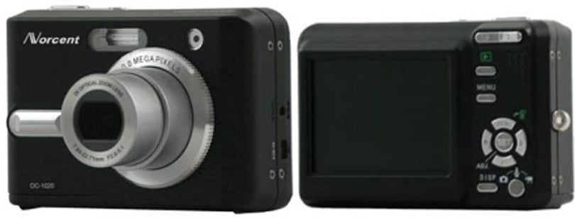 Norcent's DC-10 -- 10 megapixels on the cheap