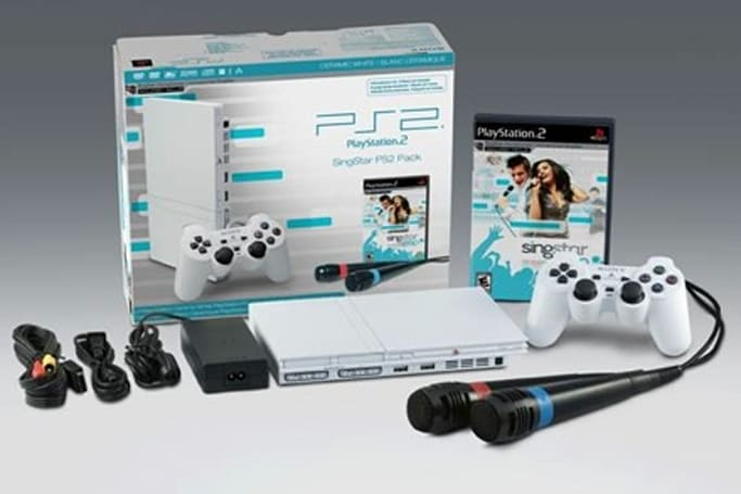 White PlayStation 2 appears in upcoming holiday SingStar bundle