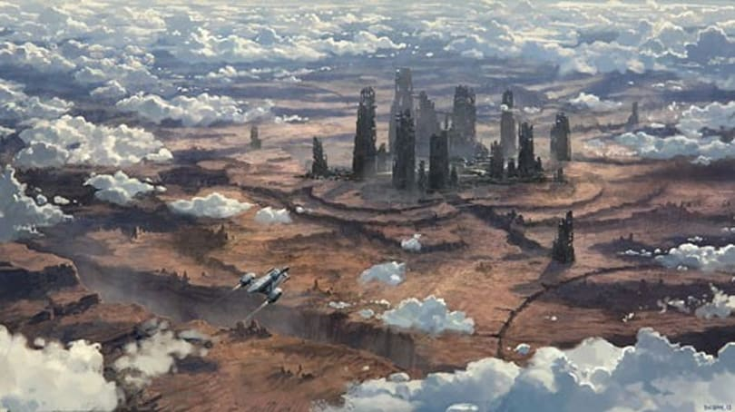 Star Citizen concept art shows off Orion III colony