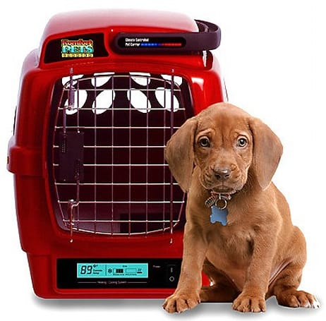 Komfort Pets' climate-controlled pet carrier