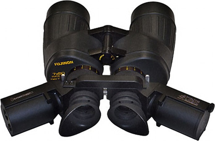 LightSpeed binoculars transmit video and audio via Infrared