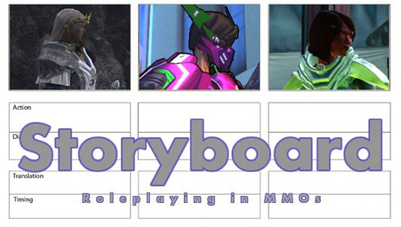 Storyboard: The advantage of familiar characters
