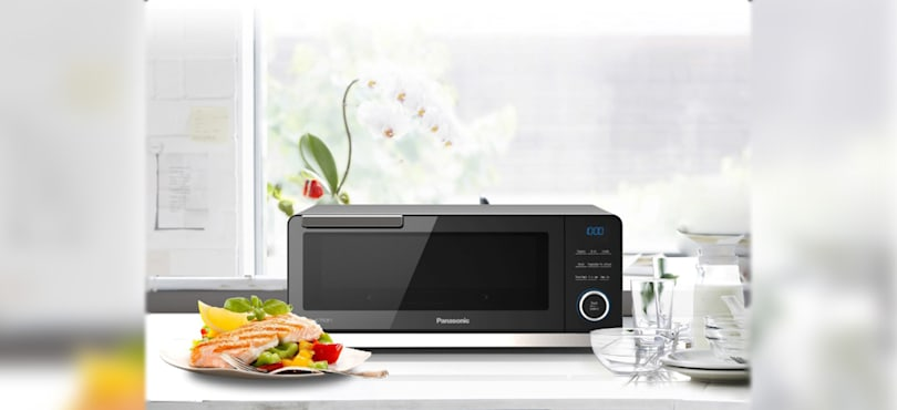 Panasonic makes the first countertop induction oven