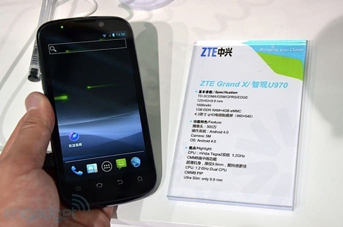 ZTE Grand X reaches UK shops a tad early through Phones4U
