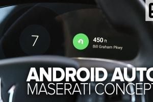 Maserati's Android Auto Concept