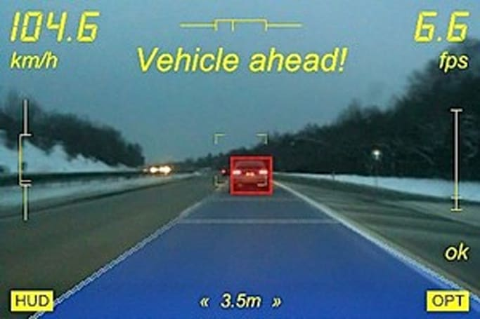 iPhone app enables augmented driving, at your own risk