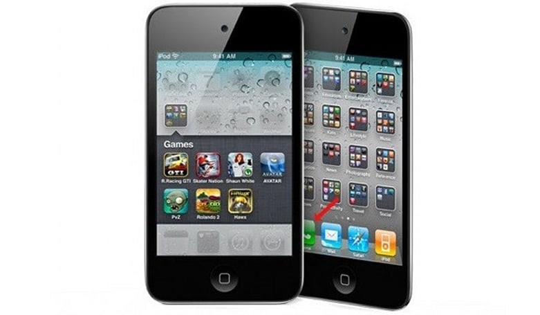 Apple photoshops iPhone into iPod touch