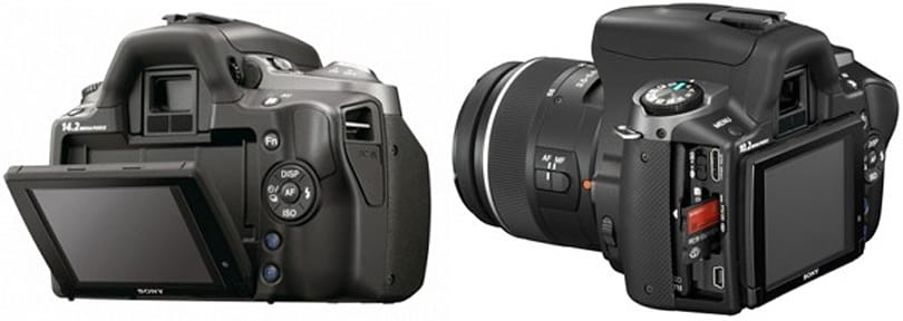 Sony's Alpha 230, 330 and 380 DSLRs get flood of official pics