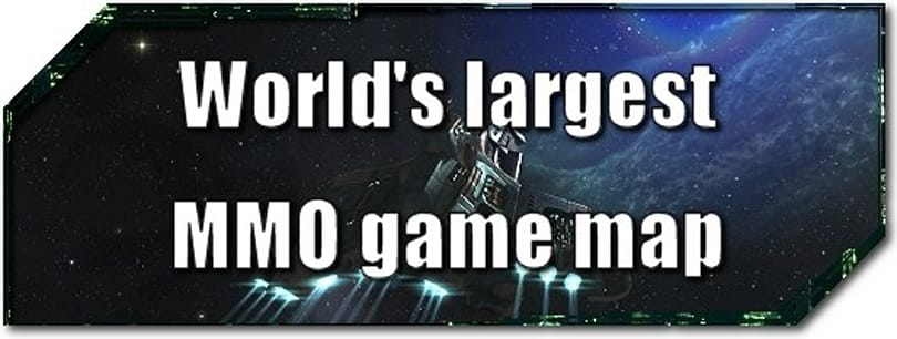 EVE Evolved: Does EVE Online have the world's largest MMO map?