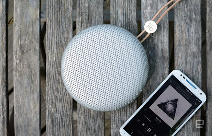 Bang and Olufsen's new compact speaker packs big sound