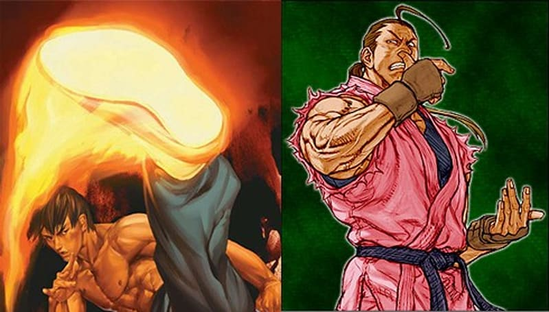 Fei Long, Dan join Street Fighter IV home roster