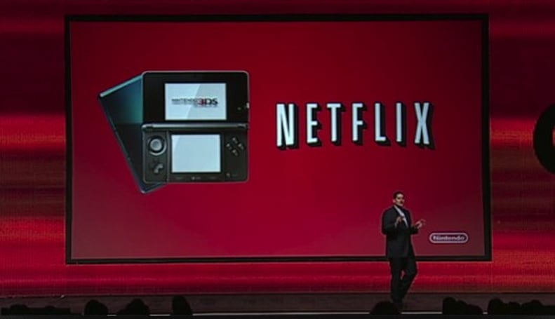 Nintendo 3DS gets free Netflix update in tomorrow's eShop update