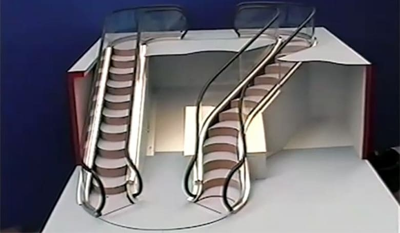 Levytator claims to be the world's first bendy escalator, has the patents to prove it (video)