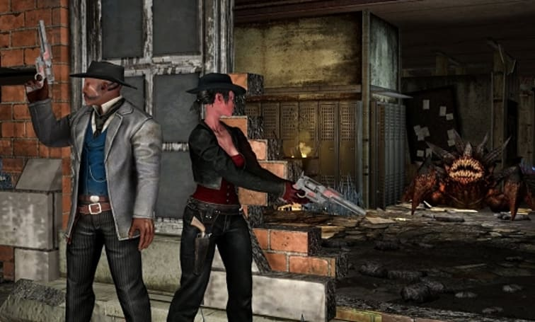 Watch a dev tour of Defiance's Gunslinger DLC