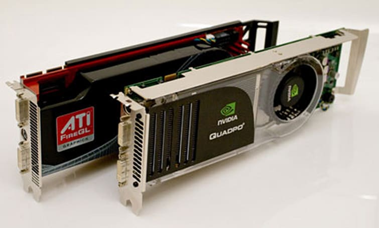 ATI and NVIDIA's high-end workstation graphics get tested and compared