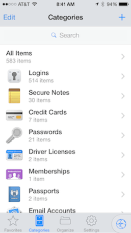 1Password 4.5 for iOS gains features, slims down