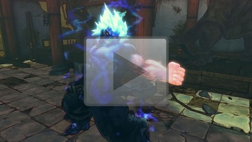 Oni officially debuts on Super Street Fighter IV Arcade Edition site