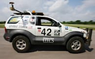 "Self-driving ""Marvin"" SUV gets set for DARPA's Urban Challenge"