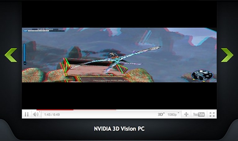NVIDIA 3D Vision machines get 3D YouTube video support on Firefox