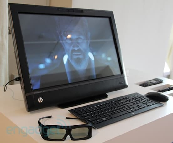 HP does the inevitable, announces the TouchSmart 620 with a 3D display and webcam (video)
