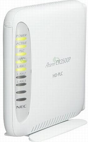 NEC intros Aterm CA2100P WiFi router and power line adapter