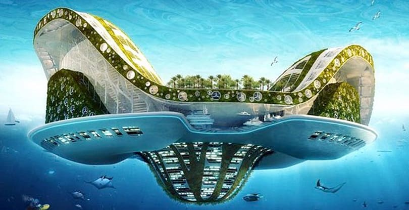 Inhabitat's Week in Green: floating cities, solar bikes and a Dr. Seuss house