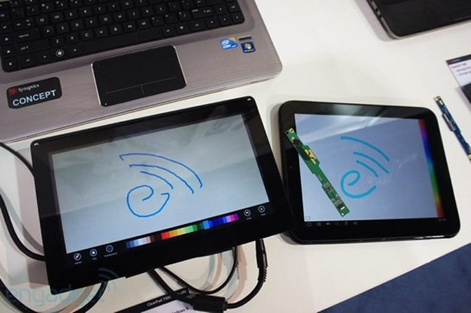 Synaptics launches a pair of mobile touchscreens at MWC 2013