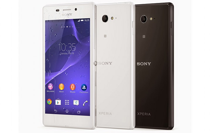 Sony's launching a waterproof version of its mid-range Xperia M2