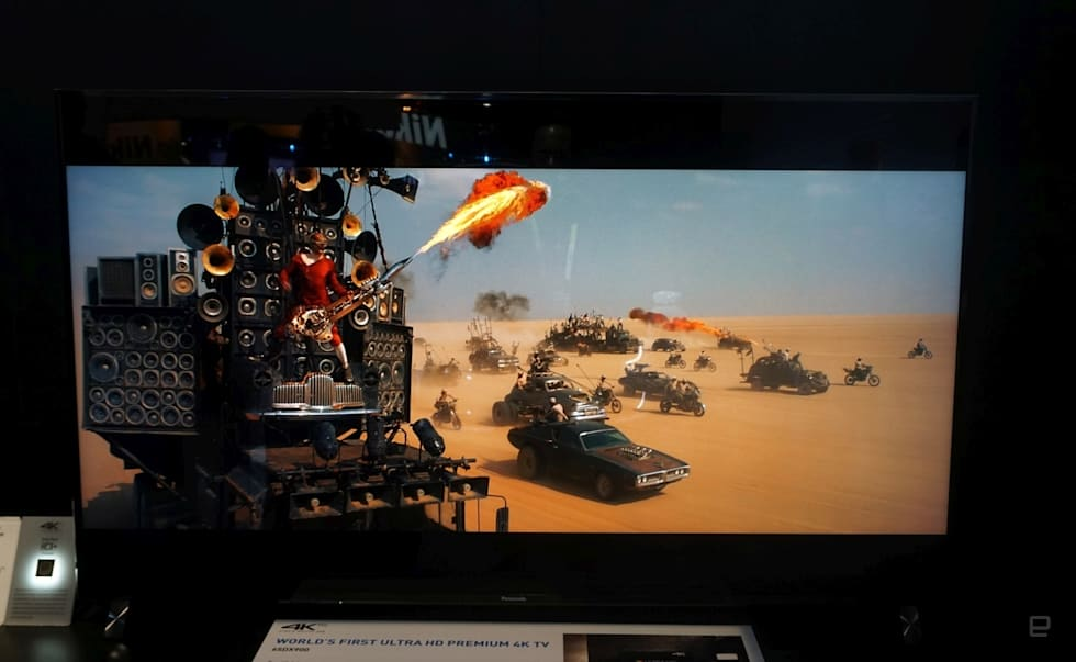 Panasonic's 4K CES: OLED, LCD and Ultra HD Blu-ray